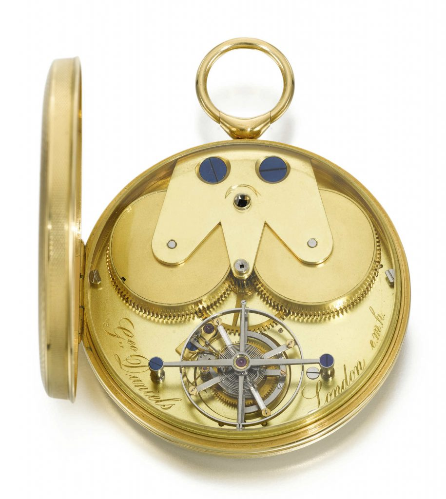 Michael Clerizo and the George Daniels pocket watch