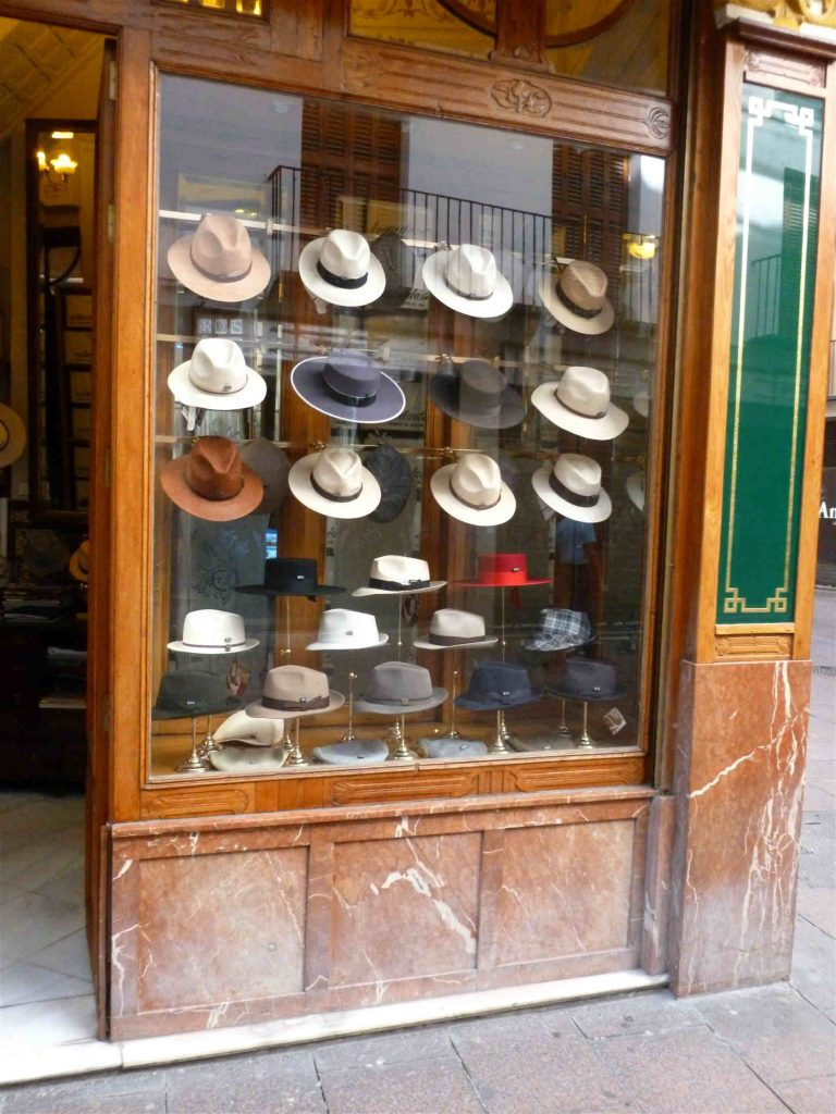 Hat shop in Seville