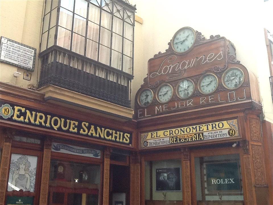 Seville shop front