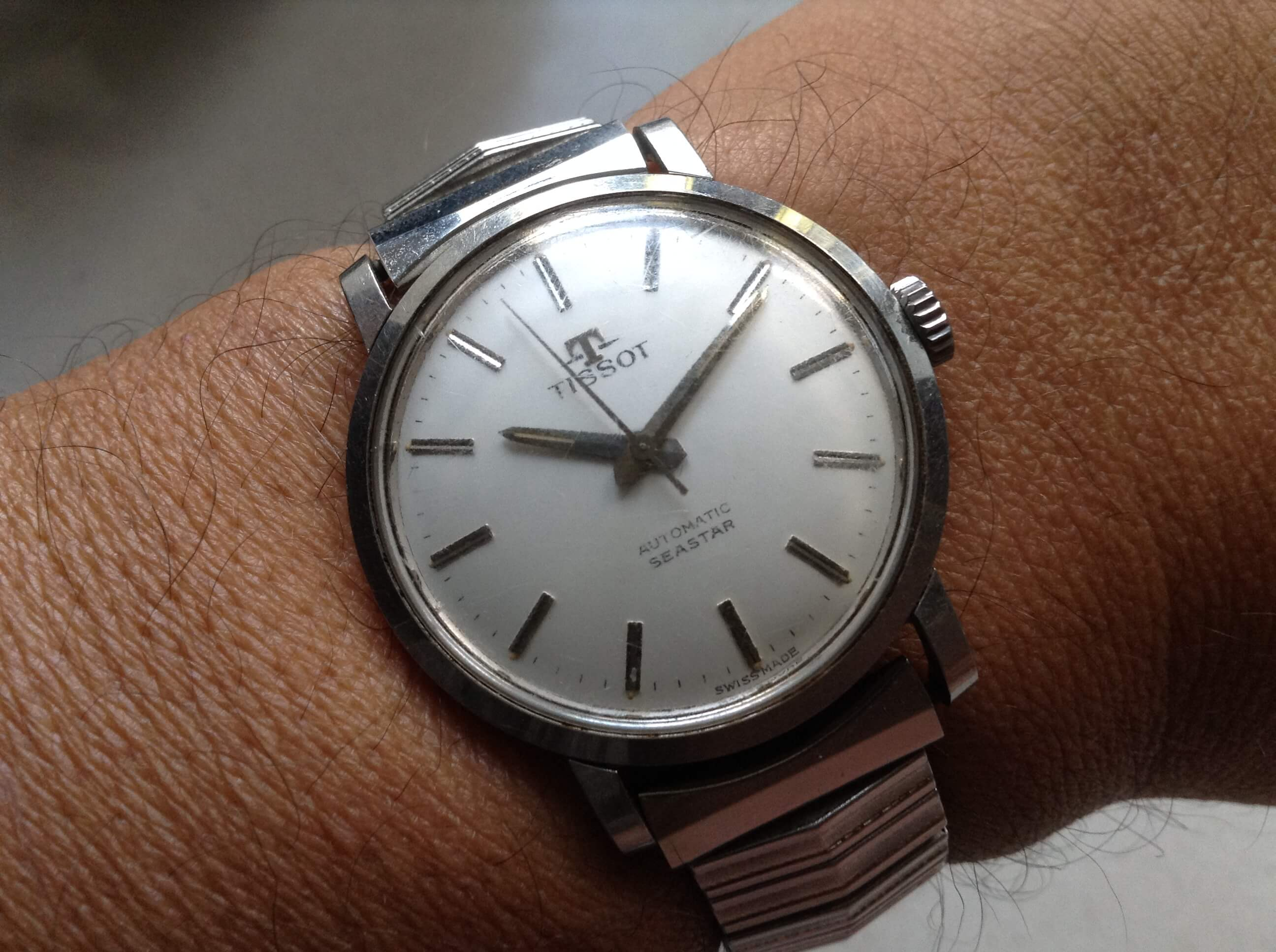 Tissot three watch