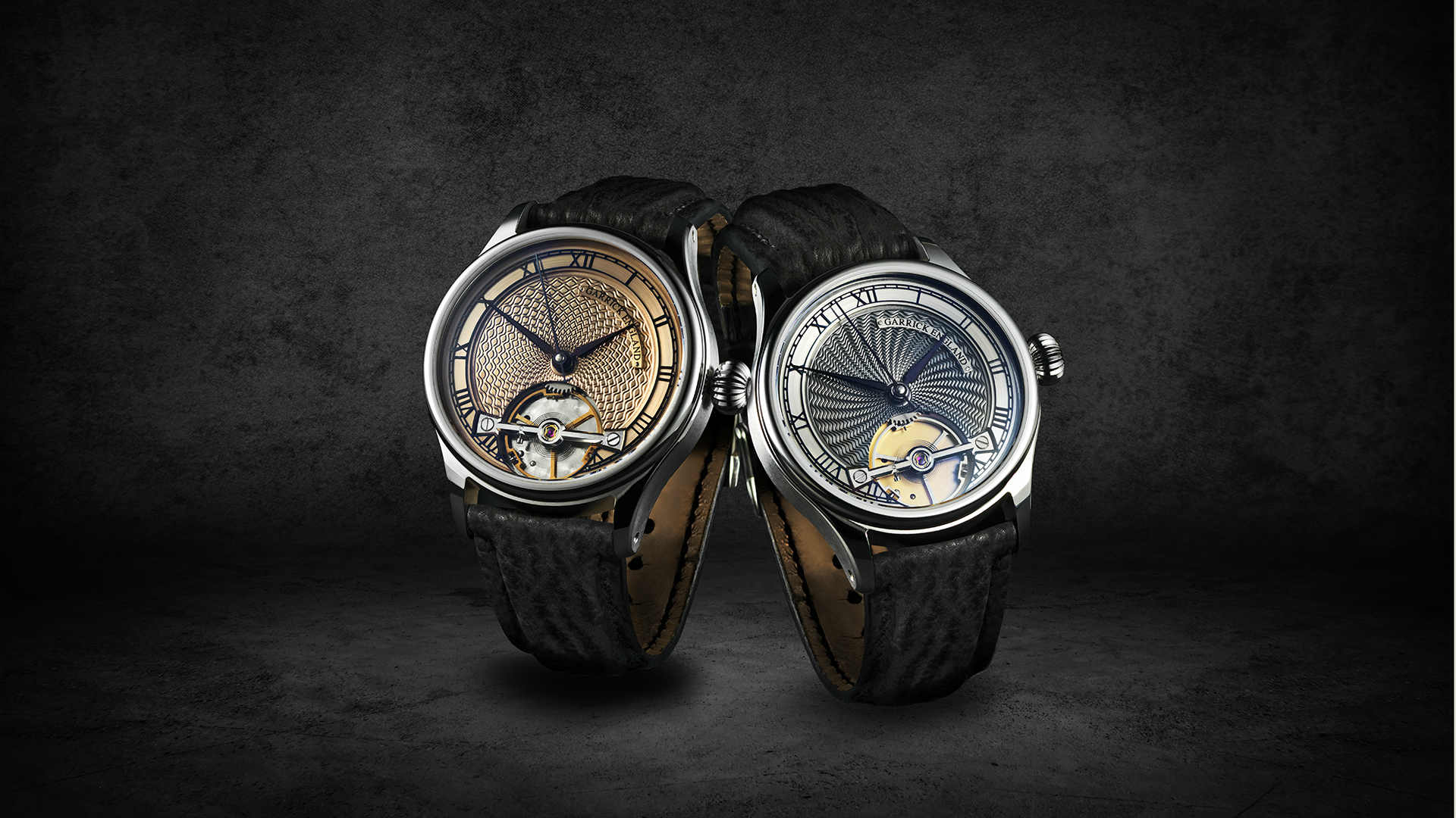 The new British S2 timepiece by Garrick Watchmakers