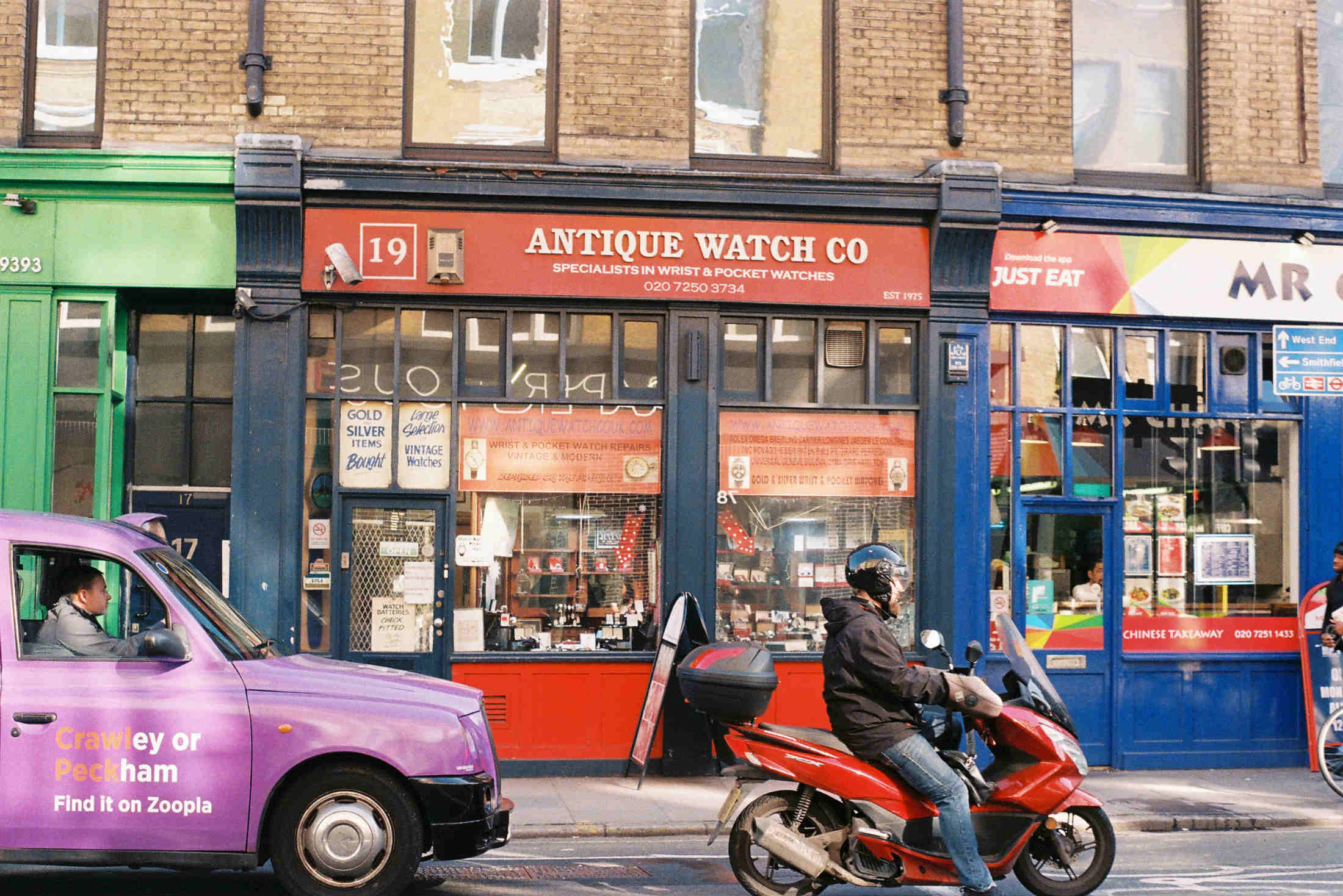 The Aintique Watch Co - Clerkenwell