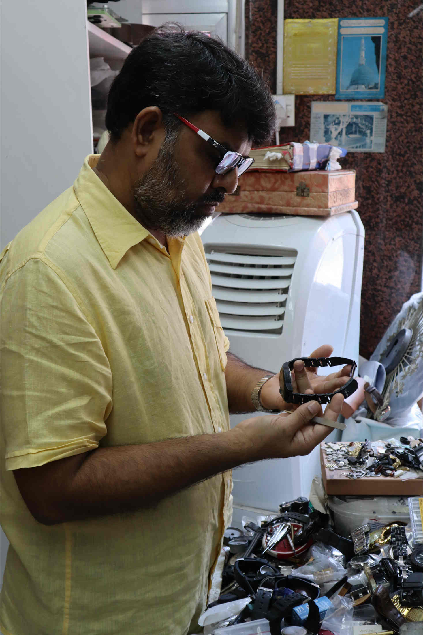 Mohammed Irshad Hussain watchmaker